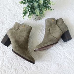 Tory Burch   Sabe Suede Bootie NWOB